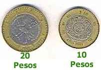 Mazatlan, Mexico: Dollars and Pesos - 'Dinero'
